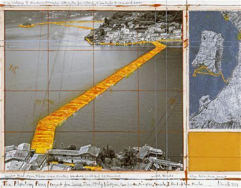 Land Französische Speisesäle by Christo Impacchetta Il Lago D Iseo Il Famoso Artista Nel