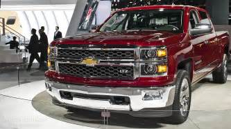 2013 naias all new 2014 chevy silverado live photos