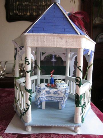 gazebo tutorial miniature gazebo tutorial dollhouse garden accents