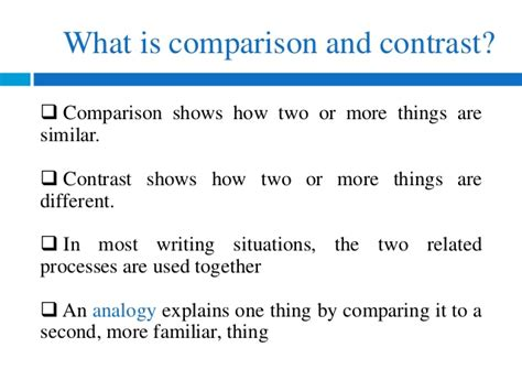 topic for compare and contrast essay compare and contrast ereading