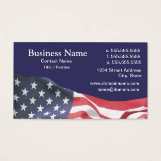 american greetings card templates american flag business cards templates zazzle