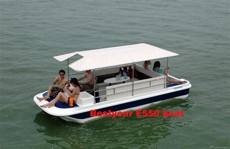 buy a boat from china pontoon boat catamaran boat e550 e850 china