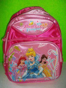 Tas Troli Princess Tas Anak Motif Princess Princes 6d 4in1 tas sekolah import tas anak perempuan princess grosir