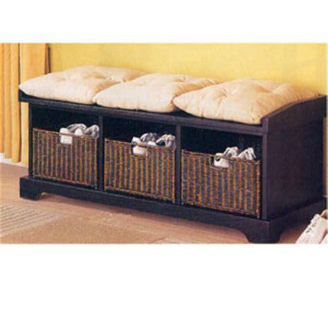 corner storage bench with basket benches storage bench w baskets 5010 4 co100 free