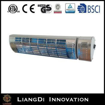 Solar Air Heater Waterproof Ip65 Garden Electric Patio Solar Patio Heater