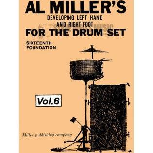 drum pattern left right left left miller dev left hand right foot for drum set vol 6
