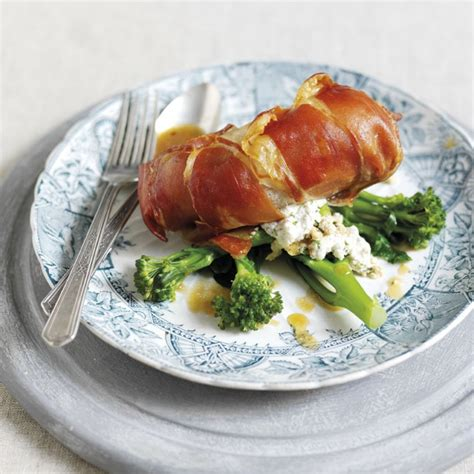 ham and chicken recipes parma ham wrapped chicken breasts stuffed with ricotta and