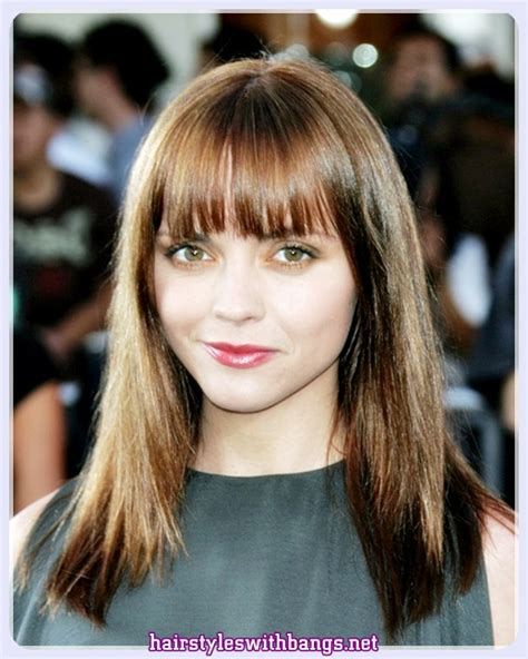 Hairstyles For Hair With Bangs by 2018 Hairstyles For Medium Hair With Bangs And Layers