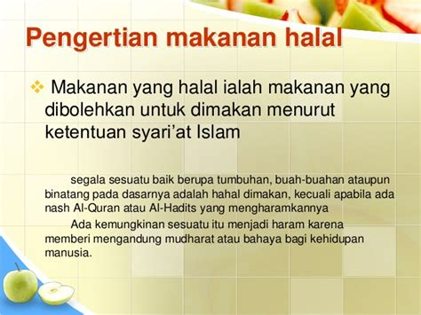 pengertian layout pada powerpoint power point makanan minuman halal dan haram ari efendi