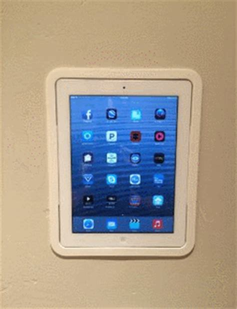 in wall mount for home automation connected crib