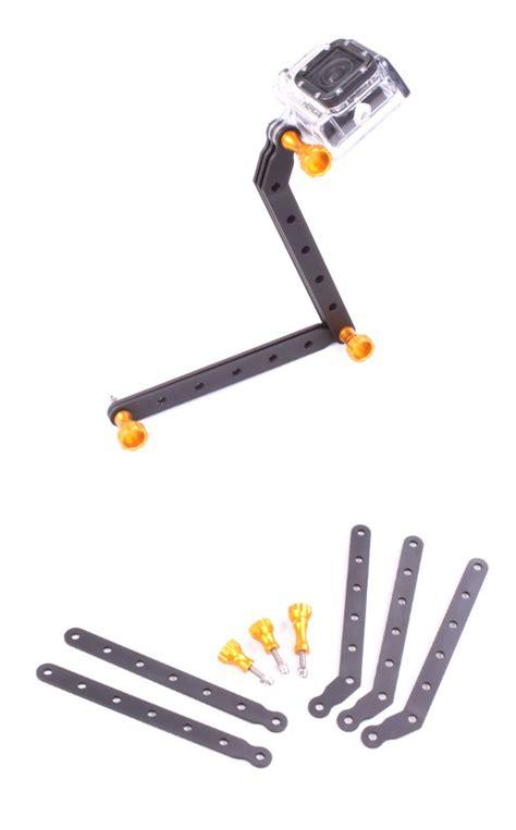 Tmc Cnc Aluminum Arms And For Gopro Xiaomi Yi ebairsoft airsoft parts tactical gear g tmc cnc aluminum arms and for gopro hd hero3