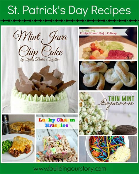 st patrick s day recipes building our story