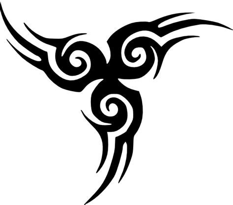 png tribal tattoos tribal clip at clker vector clip