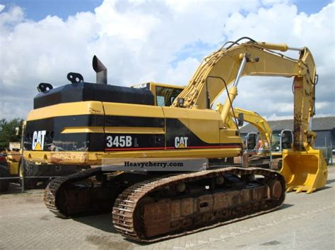 Cat 345 Bl 2002 Caterpillar Digger Construction Equipment