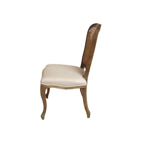Provincial And Chair by European Design Provincial Dining Chair In Weathered Oak