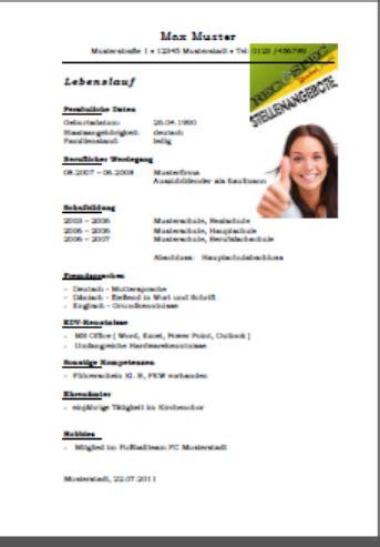 Bewerbungsschreiben Nach Ausbildung B Rokauffrau pin bewerbung und lebenslauf b 252 rokauffrau muster vorlagen