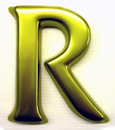 3d letter r 3d letters