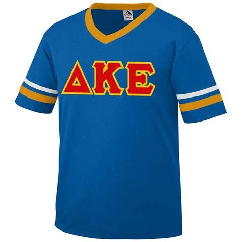 design jersey kappa delta kappa epsilon jersey with greek applique letters