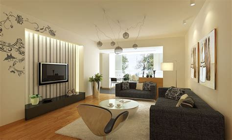 light gray sofa design in living room 3d house