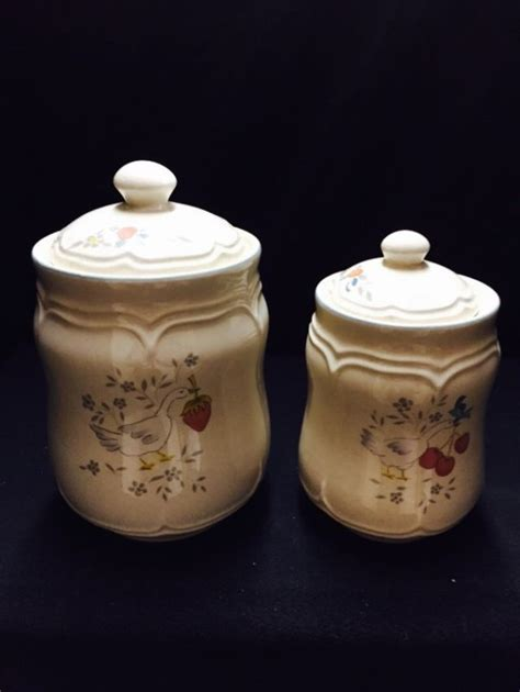 set of 3 sweet vintage honeycomb canisters vintage pink canister set shop collectibles online daily