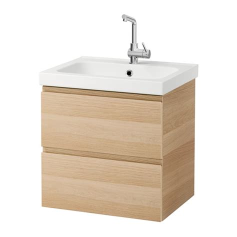 Wash Stand With Drawers by Odensvik Godmorgon Wash Stand With 2 Drawers White Stained
