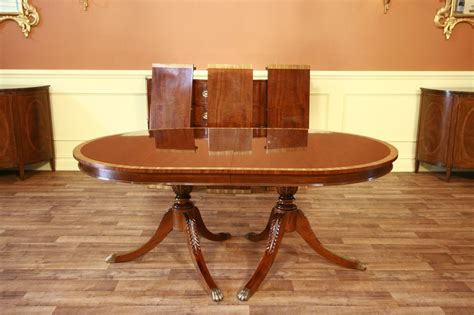 duncan phyfe dining room table high end oval mahogany duncan phyfe dining room table
