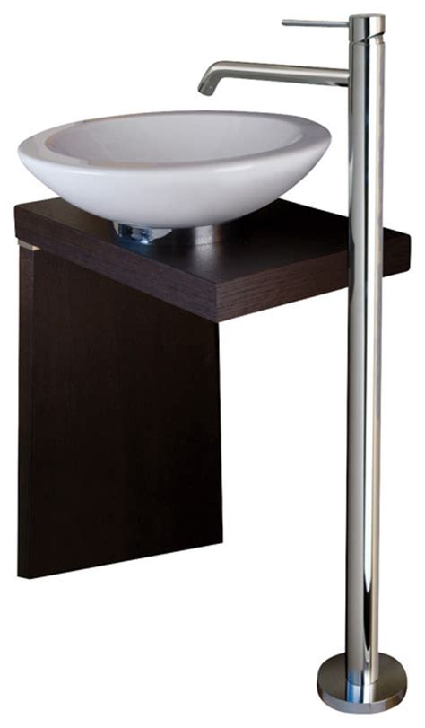 ws bath collections light  standing bathroom sink faucet contemporary bathroom sink