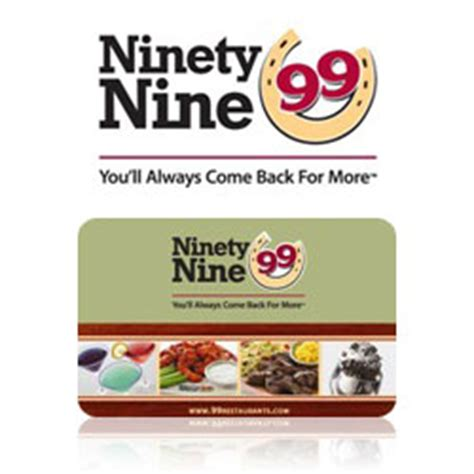 Where To Buy Restaurant Gift Cards - buy ninety nine restaurant gift cards at giftcertificates com