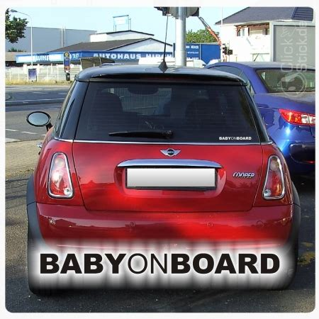 Auto Aufkleber Baby On Bord by Baby On Board Auto Aufkleber Sticker Babyaufkleber