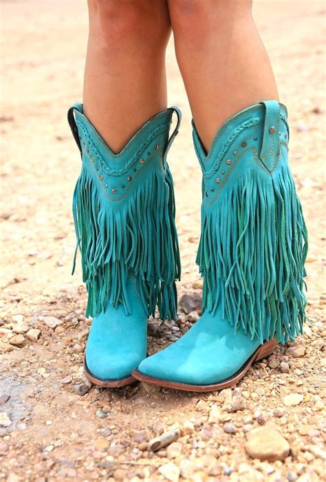 rambler boots turquoise junk gypsy  junk gypsy