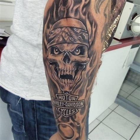 tribal harley davidson tattoos harley davidson bikes tattoos