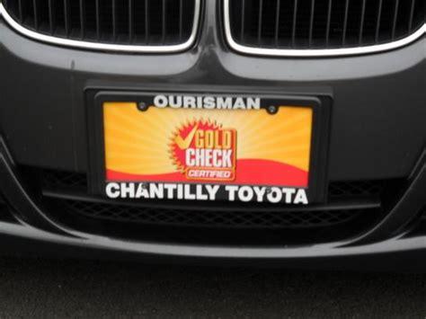 Ourisman Toyota Chantilly Service Ourisman Chantilly Toyota Chantilly Va 20151 Car