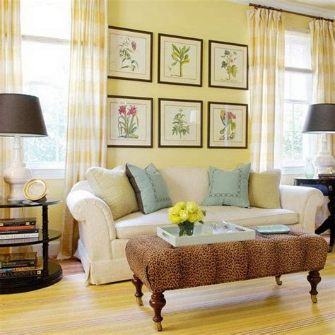 Yellow And Green Living Room Walls Pretty Living Room Colors For Inspiration Hative