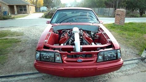 fox mustang turbo turbo mustang foxbody