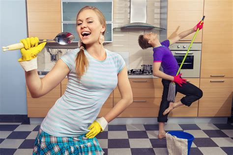 party clean 4 tips to make cleaning fun for your family