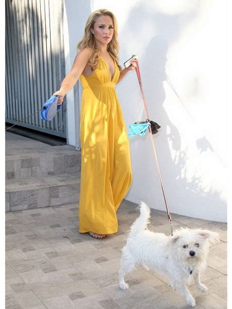 Get A Yellow Dress Like Hayden Panetierre by Maxi Dress