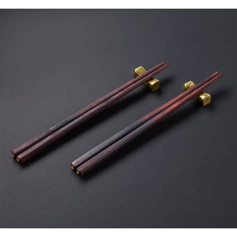 Chopsticks Rest handforged brass chopstick rests eatingtools