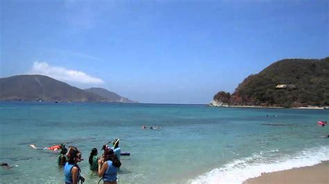 playas de santa marta colombia playa cristal santa marta colombia youtube