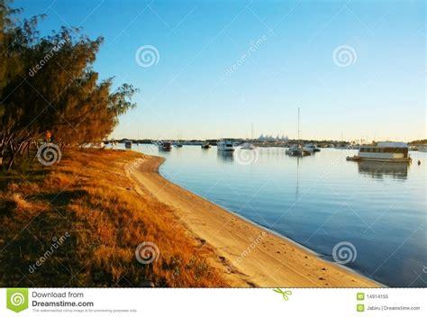 free boats gold coast broadwater boats royalty free stock photo image 14914155