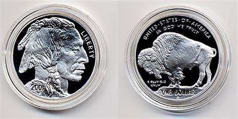 american proof buffalo silver dollar