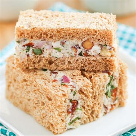 smoked turkey tea sandwiches