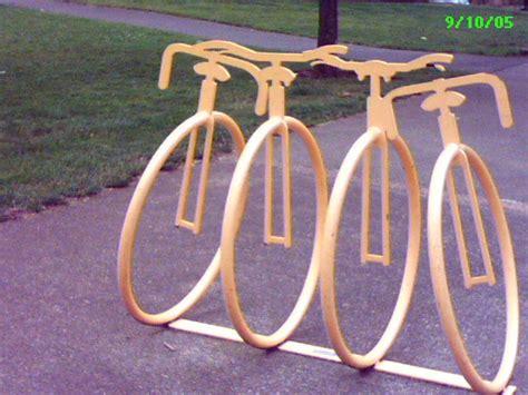 Bike Racks Portland by Portland Pictures Bicycle Bike Racks