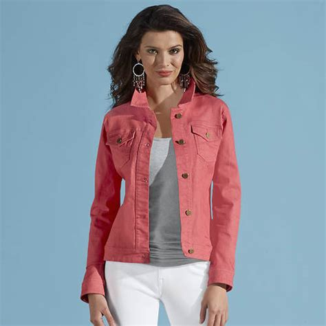 colored jean jackets s colored jean jacket easy pay