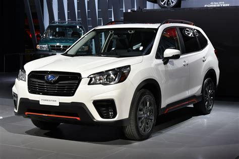 subaru forester 2019 2019 subaru forester arrives bigger more powerful
