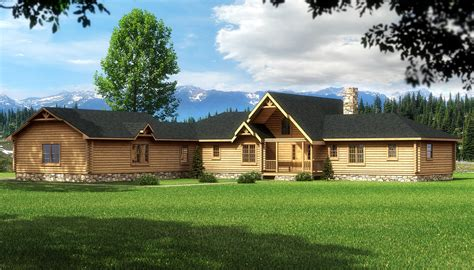 mustang creek plans information southland log homes