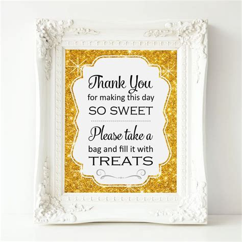 Baby Shower Buffet Sign Template by Buffet Sign Gold Buffet Printable Bar