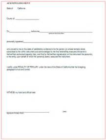 best photos of notary acknowledgement form california