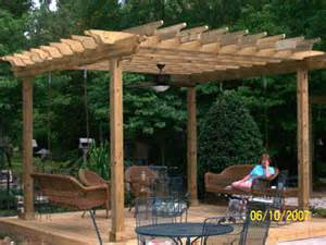 How To Build A Large Pergola by Build A Pergola For Your Landscape That Is Big And Sturdy