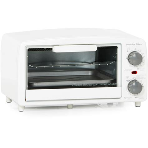 Procter Silex Toaster Oven proctor silex toaster oven and broiler white walmart