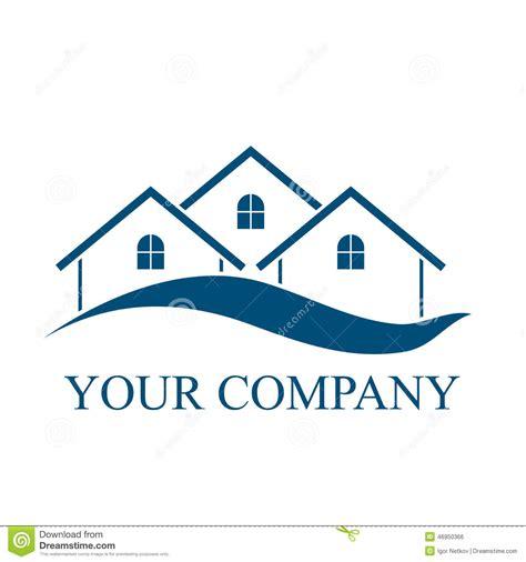 House Plans With Casitas logo abstrait de vecteur de silhouette de b 226 timent d